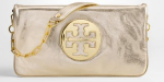 Tory Burch Metallic Reva Clutch $325