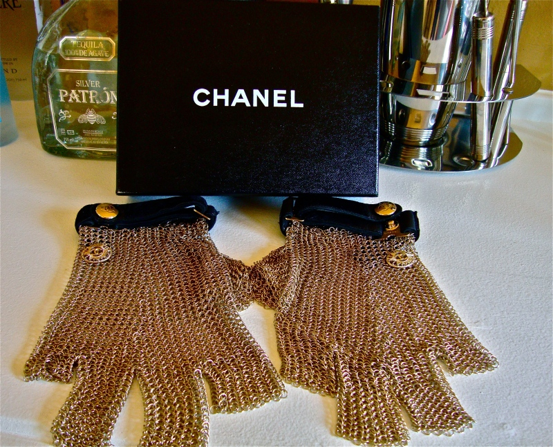 Chanel Mesh gloves